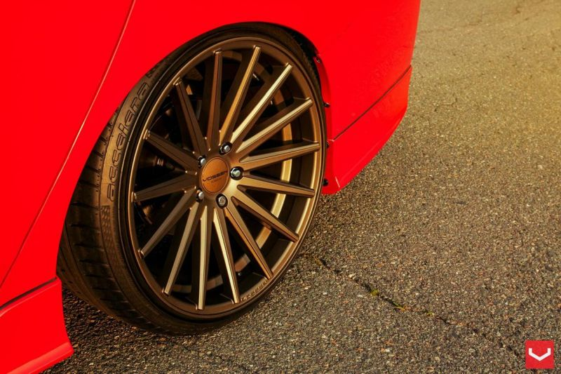 Vossen Wheels VFS-2 Acura TLX Special Red Honda Accord (10)
