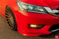 Vossen Wheels VFS 2 Acura TLX Special Red Honda Accord 2 190x127 Vossen Wheels VFS 2 am Special Red lackierten Honda Accord