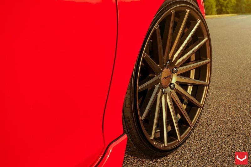 Vossen Wheels VFS-2 Acura TLX Special Red Honda Accord (6)
