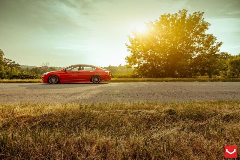 Vossen Wheels VFS-2 Acura TLX Special Red Honda Accord (8)