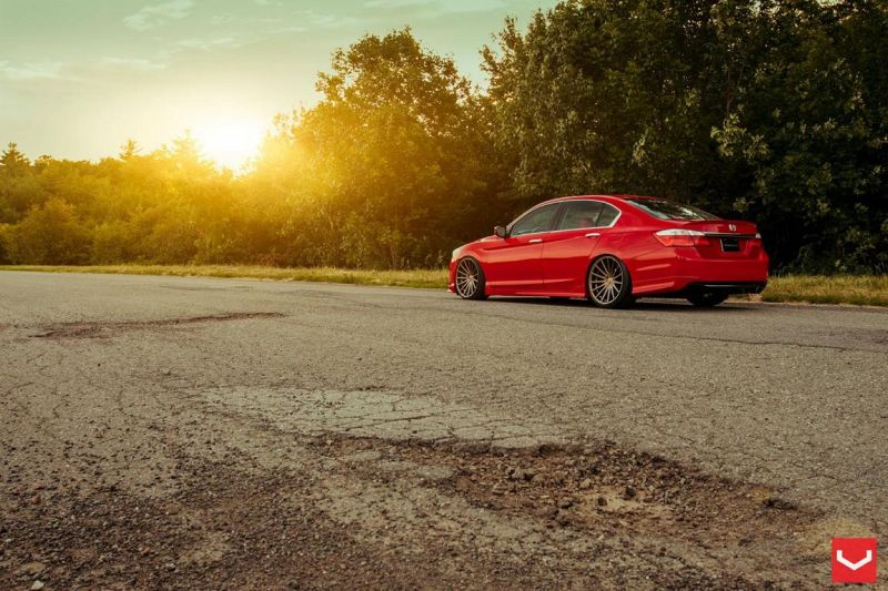 Vossen Wheels VFS-2 Acura TLX Special Red Honda Accord (9)