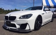 Wald Bodykit BMW F06 Gran Coupe Tuning 1 190x120 BMW 6er Gran Coupé mit Black Bison Bodykit von Wald Internationale