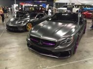 Wald Internationale Mercedes S Coupe C217 Tuning Folierung Wrap Impressive Wrap 1 190x142 Fotostory: Wald Internationale Mercedes S Coupe by Impressive Wrap