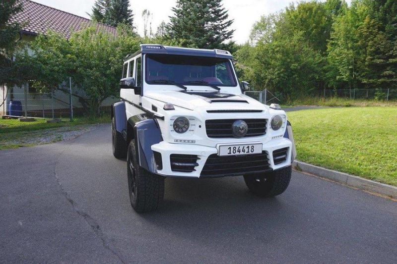 White Mansory Gronos Tuning Mercedes Benz G500 4%C3%974%C2%B2 2016 1 Fotostory: Mansory's Gronos Mercedes Benz G500 4×4²