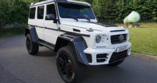 White Mansory Gronos Tuning Mercedes Benz G500 4%C3%974%C2%B2 2016 2 310x165 Offiziell: Mansory Widebody Kit für den Bentley Bentayga