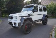White Mansory Gronos Tuning Mercedes Benz G500 4%C3%974%C2%B2 2016 3 190x127 Fotostory: Mansory's Gronos Mercedes Benz G500 4×4²