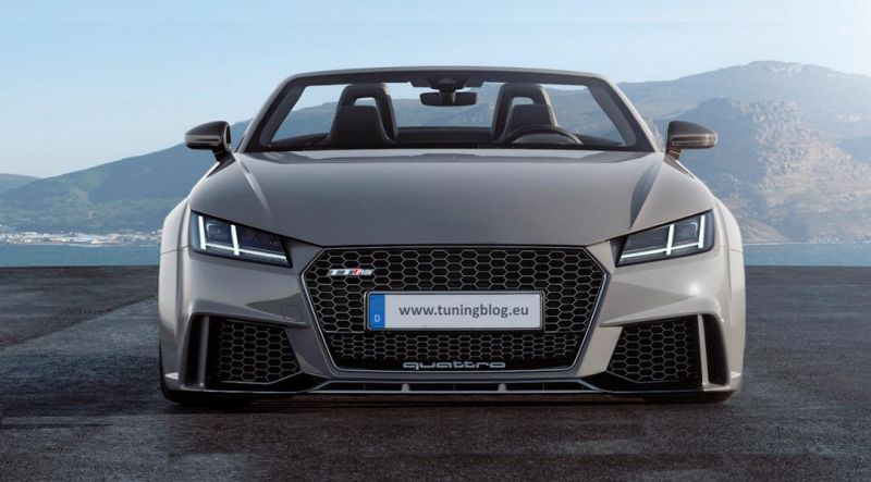 Widebody Tuning Audi TT FV Nardograu Nardogrey Tuning Widebody Audi TT FV in Nardograu by tuningblog.eu