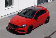 cartech.ch Mercedes A250 AMG 4matic Tuning HRE FF01 Pirelli 10 190x127 Dezent   cartech.ch Mercedes A250 AMG 4matic auf HRE Alu's