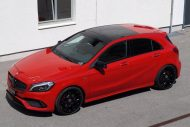 cartech.ch Mercedes A250 AMG 4matic Tuning HRE FF01 Pirelli 11 190x127 Dezent   cartech.ch Mercedes A250 AMG 4matic auf HRE Alu's
