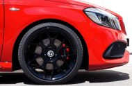 cartech.ch Mercedes A250 AMG 4matic Tuning HRE FF01 Pirelli 2 190x124 Dezent   cartech.ch Mercedes A250 AMG 4matic auf HRE Alu's