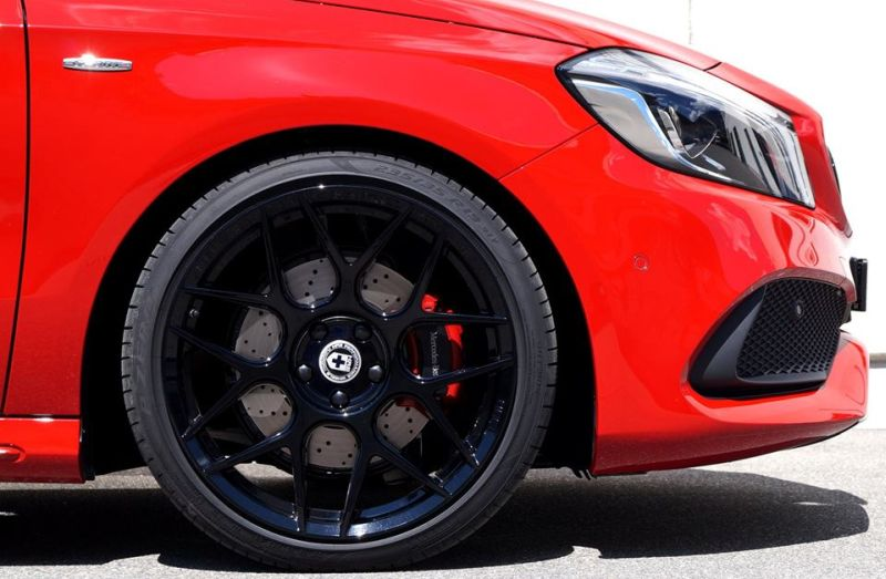 cartech.ch Mercedes A250 AMG 4matic Tuning HRE FF01 Pirelli 2 Dezent   cartech.ch Mercedes A250 AMG 4matic auf HRE Alu's