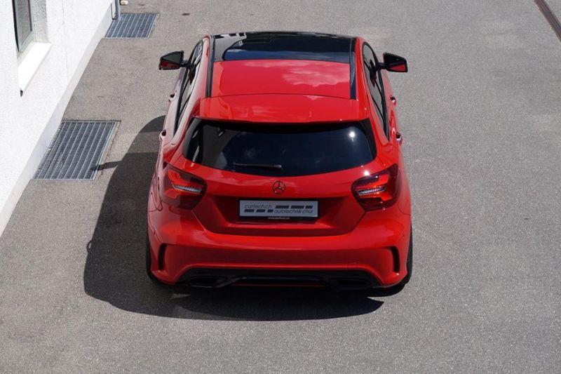 cartech.ch Mercedes A250 AMG 4matic Tuning HRE FF01 Pirelli 4 Dezent   cartech.ch Mercedes A250 AMG 4matic auf HRE Alu's