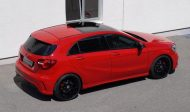 cartech.ch Mercedes A250 AMG 4matic Tuning HRE FF01 Pirelli 5 190x112 Dezent   cartech.ch Mercedes A250 AMG 4matic auf HRE Alu's