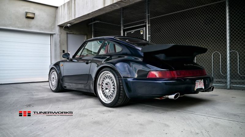1993er Porsche 911 Turbo 3.6 HRE Performance Wheels Tuning 1 1993er Porsche 911 Turbo 3.6 auf HRE Performance Wheels
