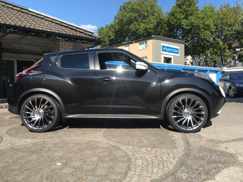 20 zoll tomason tn16 felgen am spacigen nissan juke. Black Bedroom Furniture Sets. Home Design Ideas