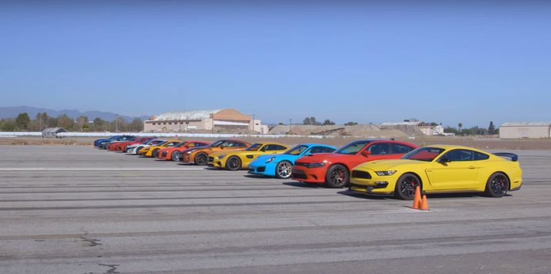 2017 acura nsx behind gt r 911 beats viper acr in world s greatest drag race 6 111505 1 Video: Das wohl größte Drag Race ever   Teil 6
