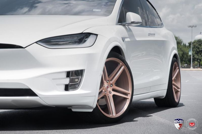22 Zoll Vossen VPS 302 Tesla Model X 2 22 Zoll Vossen VPS 302 Wheels am 773PS Tesla Model X