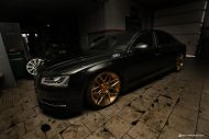 ADV1 Wheels Milltek Racechip Audi A8 S8 Tuning 2 1 190x127 Video: ADV.1 Wheels Alufelgen an der Audi A8 S8 Limo