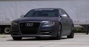 Audi A8 S8 Sprühfolie Tuning DipYourCar 1 1 e1474805793983 310x165 Video: So wird's gemacht   Audi A8 S8 umgestylt mit DipYourCar