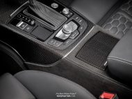 Audi RS6 Tuning Neidfaktor Interieur 14 190x143 Mega edel   Audi RS6 The Black Widow Project by Neidfaktor