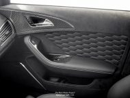 Audi RS6 Tuning Neidfaktor Interieur 2 190x143 Mega edel   Audi RS6 The Black Widow Project by Neidfaktor