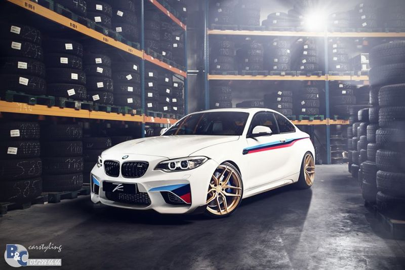 BC Carstyling BMW M2 F87 Coupe Tuning 4 Volles M Programm B&C Carstyling BMW M2 F87 Coupe