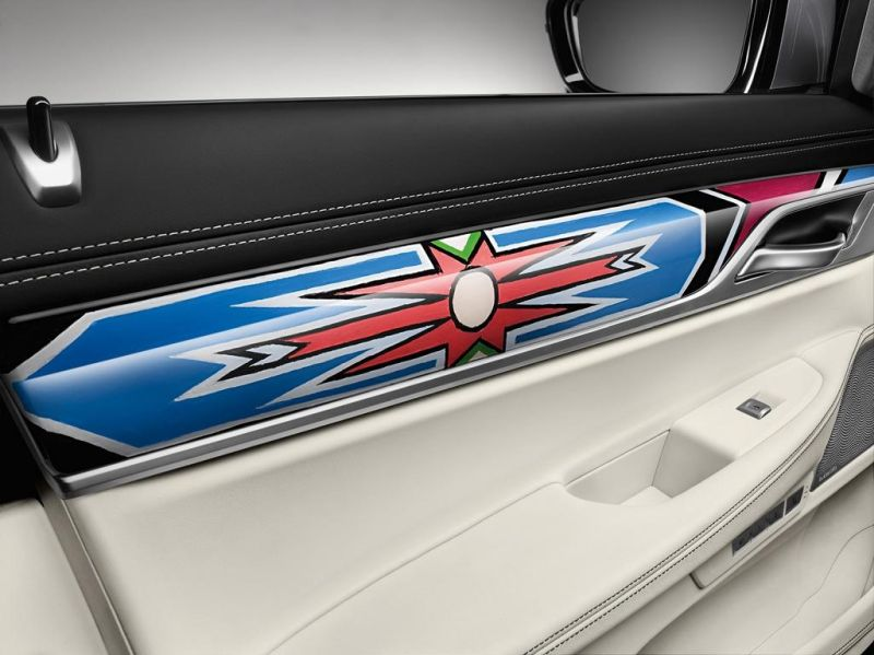 BMW 7er G12 740LI Interieur ARTCar Tuning Esther Mahlangu (15)