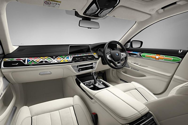 BMW 7er G12 740LI Interieur ARTCar Tuning Esther Mahlangu (20)