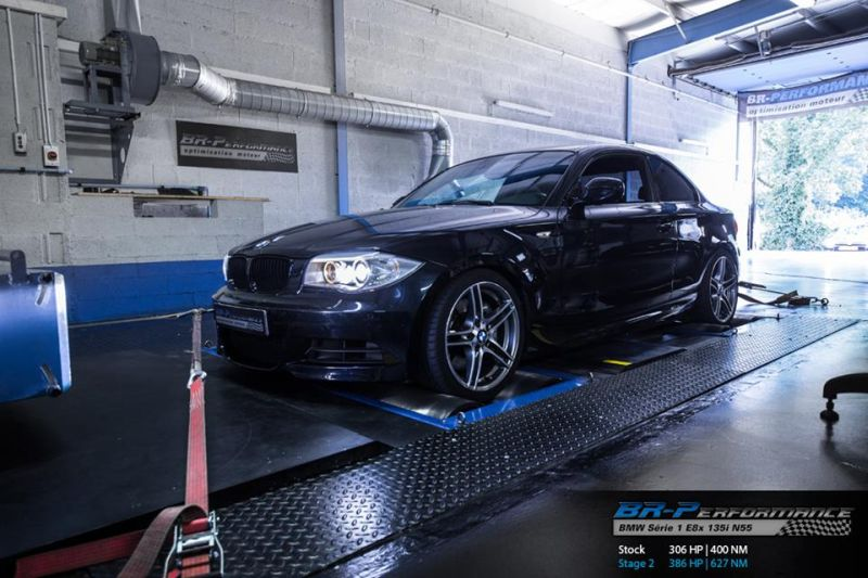 BMW E82 135i Chiptuning 1M 1 Auf 1M Niveau – BMW E82 135i mit 386PS & 627NM by BR Performance