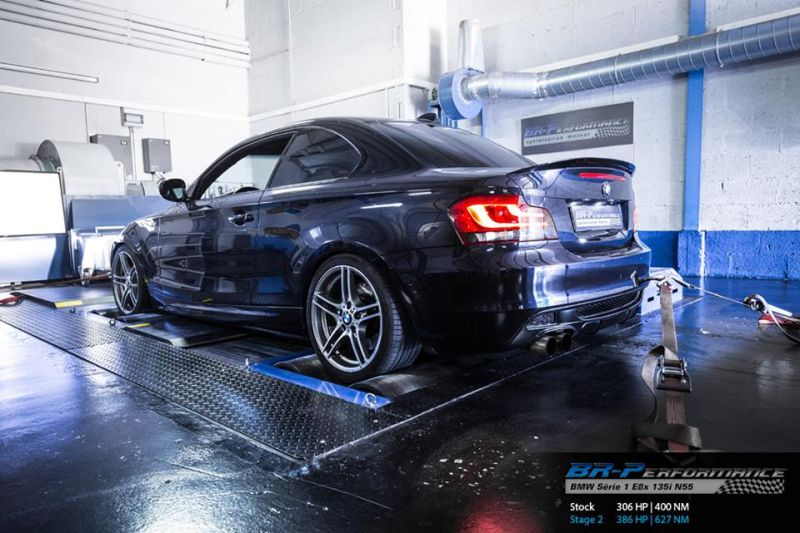 BMW E82 135i Chiptuning 1M 2 Auf 1M Niveau – BMW E82 135i mit 386PS & 627NM by BR Performance