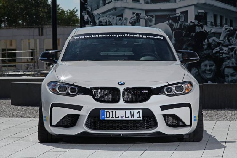 BMW M2 F87 Coupe Lightweight Chiptuning 1 BMW M2 F87 Coupe mit 450PS vom Tuner Lightweight