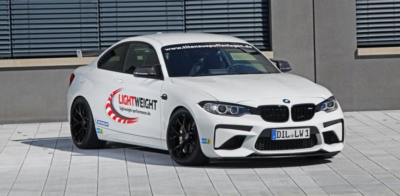 BMW M2 F87 Coupe Lightweight Chiptuning 2 BMW M2 F87 Coupe mit 450PS vom Tuner Lightweight