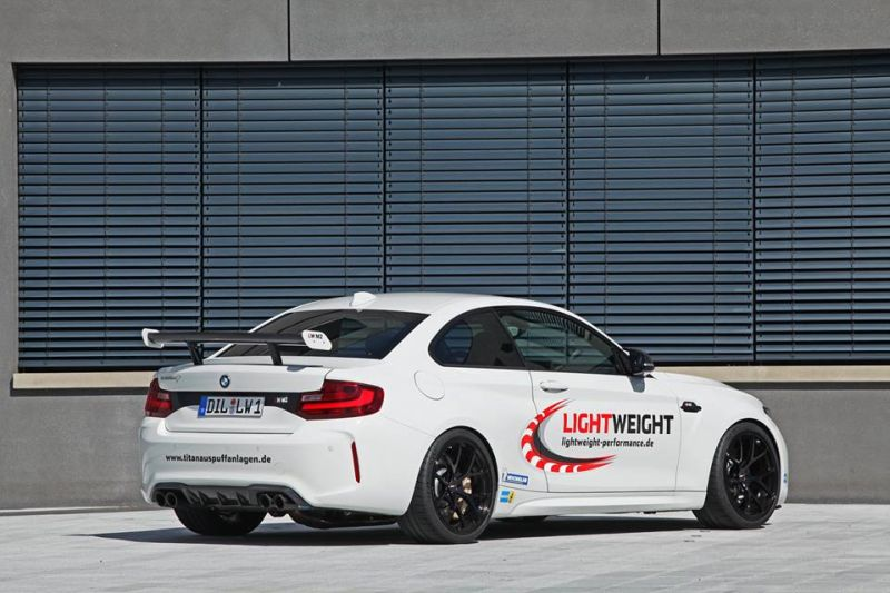 BMW M2 F87 Coupe Lightweight Chiptuning 4 BMW M2 F87 Coupe mit 450PS vom Tuner Lightweight
