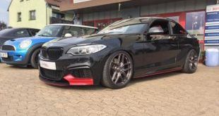 BMW M235i Chiptuning 2 1 e1474717849584 310x165 Dampfhammer   BMW M235i mit 420PS & 650NM by Aulitzky
