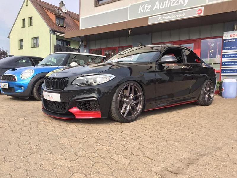 BMW M235i Chiptuning 2 Dampfhammer   BMW M235i mit 420PS & 650NM by Aulitzky