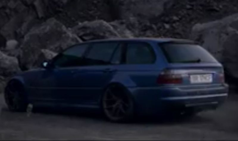 Video Bmw E46 M3 Touring With 800ps Z Performance Wheels