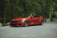 BMW M3 F80 Sakhir Orange Tuning 1 190x127 Mega schick   BMW M3 F80 in Sakhir Orange auf HRE P101 Alu's