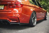 BMW M3 F80 Sakhir Orange Tuning 2 190x127 Mega schick   BMW M3 F80 in Sakhir Orange auf HRE P101 Alu's