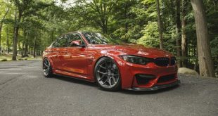 BMW M3 F80 Sakhir Orange Tuning 3 1 e1474358980846 310x165 Mega schick   BMW M3 F80 in Sakhir Orange auf HRE P101 Alu's