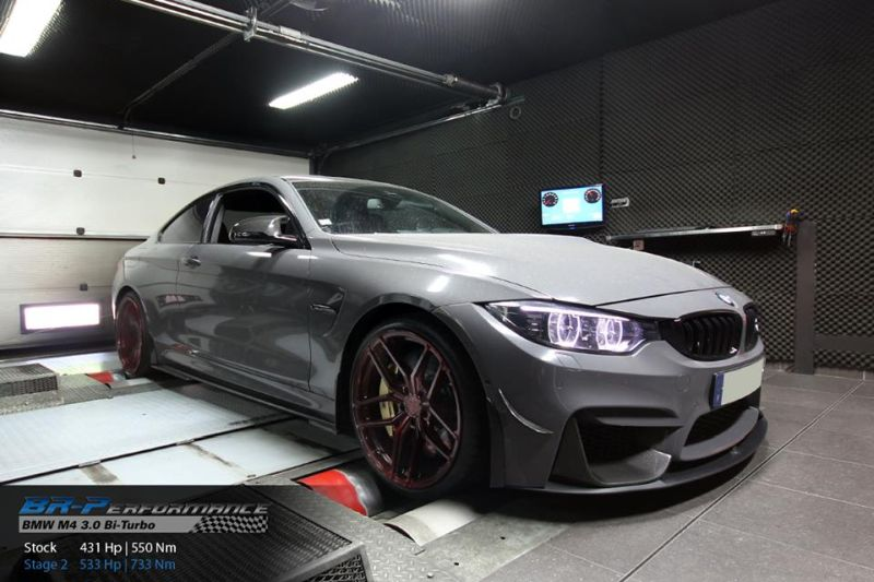 BMW M4 3.0 Bi Turbo Chiptuning BR Performance 1 BMW M4 3.0 Bi Turbo mit 533PS & 753NM by BR Performance