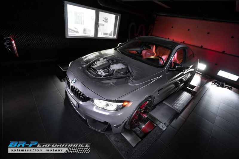 BMW M4 3.0 Bi Turbo Chiptuning BR Performance 4 BMW M4 3.0 Bi Turbo mit 533PS & 753NM by BR Performance