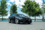 BMW M5 F10 Avantgarde M590 Tuning 1 190x127 Dezente Power Limo   BMW M5 F10 auf 21 Zoll Avantgarde Wheels M590