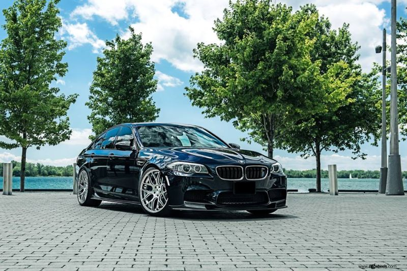 BMW M5 F10 Avantgarde M590 Tuning 1 Dezente Power Limo   BMW M5 F10 auf 21 Zoll Avantgarde Wheels M590