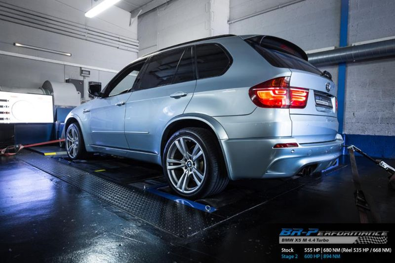 BMW X5M E70 chiptuning 2 600PS & 894NM im BMW X5M E70 SUV von BR Performance