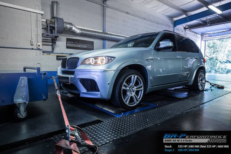 BMW X5M E70 chiptuning 3 600PS & 894NM im BMW X5M E70 SUV von BR Performance