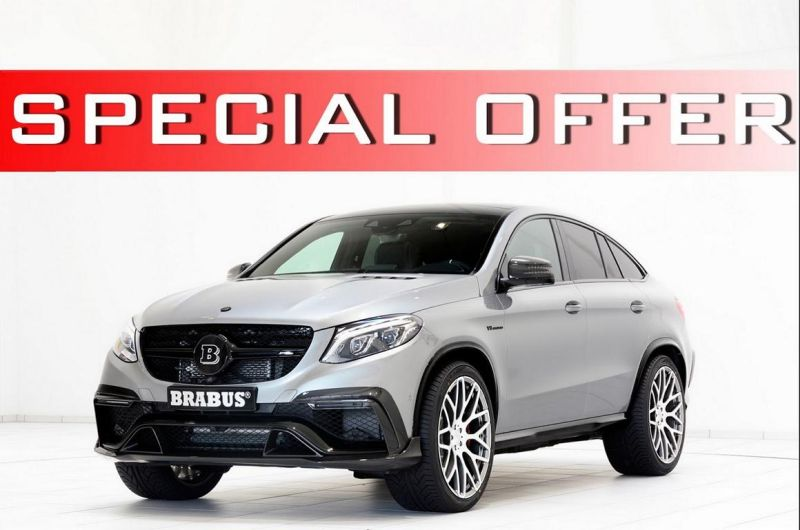 Brabus Mercedes Benz GLE 63S SUV Coupe 2016 1 Fotostory: Brabus Mercedes Benz GLE 63S SUV Coupe