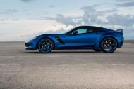 "Chevrolet Corvette Z06 C7 Forgiato Wheels Tuning 9 190x127 Was für's Auge! Chevrolet Corvette Z06 ""Blue Flame"" auf Forgiato Wheels"