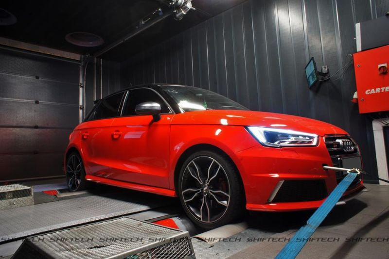 Chiptuning Audi A1 S1 1 Sportlicher Audi A1 S1 mit 311PS & 492NM by Shiftech Lyon