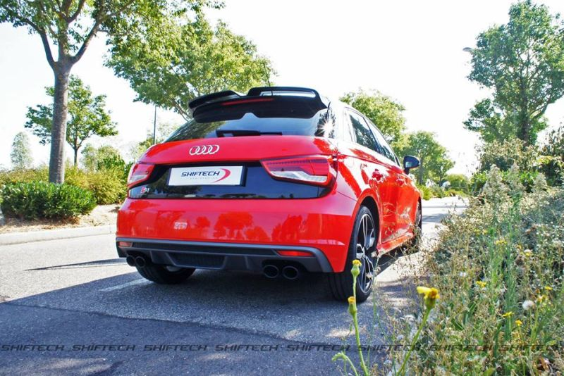 Chiptuning Audi A1 S1 5 Sportlicher Audi A1 S1 mit 311PS & 492NM by Shiftech Lyon