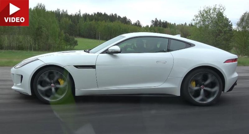 Dragerace Jaguar F Type R Porsche Panamera Turbo Video: Dragerace   Jaguar F Type R gegen Porsche Panamera Turbo S